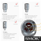 Preview: SMOK TFV4 Mini Verdampfer schwarz