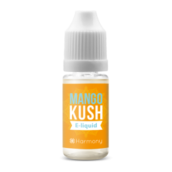 Harmony CBD E-Liquid MANGO KUSH 0 mg, 1x 10ml