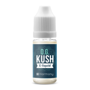 Harmony CBD E-Liquid OG KUSH 0 mg, 1x 10ml