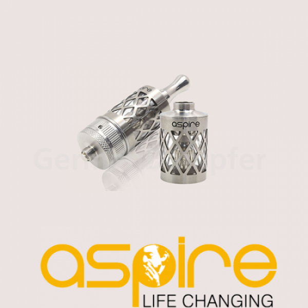 Aspire Nautilus Design Edelstahltank hollow-out