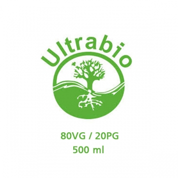 Ultrabio Base 80VG / 20PG 0mg 500ml