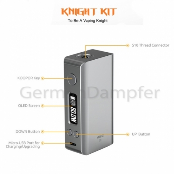 SMOK Koopor Knight Kit 80W silber