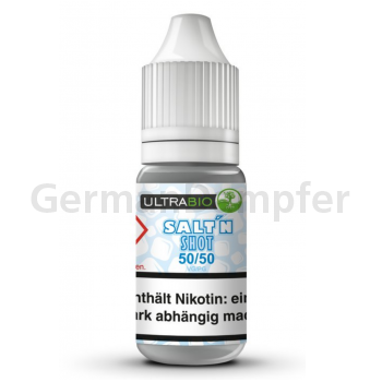 Ultrabio Nikotinsalz 50/50 - 20mg/ml 1 x 10ml