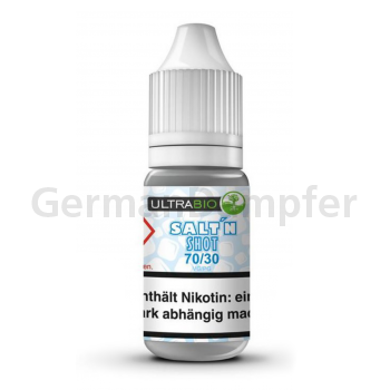 Ultrabio Nikotinsalz 70/30 - 20mg/ml 1 x 10ml