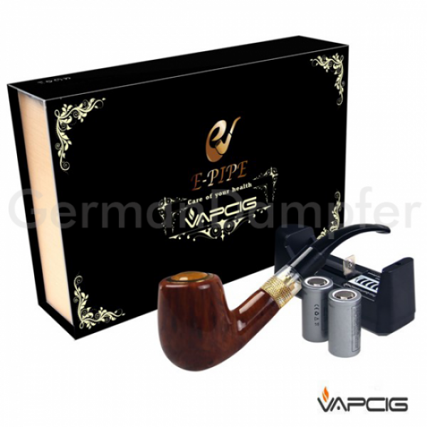 VAPCIG E-Pfeife Set wood design